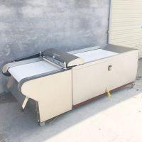 不锈钢型黄瓜切片机 启航电动省力型大葱切段机 海带切丝机哪里有卖