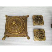 供应定制加工铜雕摆件烟灰缸