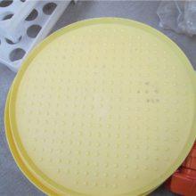雏鸡饲料槽 家禽加食盘厂家 塑料开食盘