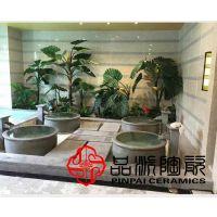1.2米口径陶瓷浴缸 养生会所用大口径泡澡大缸 温泉酒店日式洗浴大缸