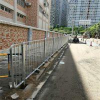 城市道路改造防护栏 珠海人行道分隔栏 中山市政面包管现货 晟成