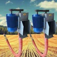 配套加长软管吸粮机 玉米小麦远距离运输机 润华中转式吸粮机