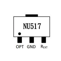 60MA高压线性恒流ICLED驱动方案NU517SPWM线性调光LED日光灯球泡灯工矿灯