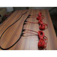 供应北京电地暖 碳纤维发热电缆硅胶发热线家用办公养殖大棚24k地热专用线