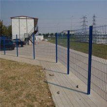 高压变电站隔离网 工厂围墙网 绿色铁丝护栏网多少钱