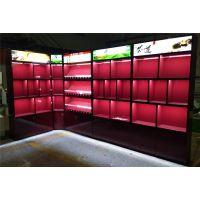 苏州市区附近小卖部烟草柜前台销售台 木质烤漆香烟玻璃柜子烟酒摆放货架子等