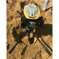 汽油173cc超大马力四冲程挖坑机汽油植树种植机