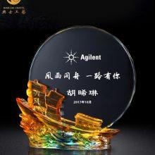 上海教师退休礼品,教师从教周年纪念品,老师光荣退休纪念牌