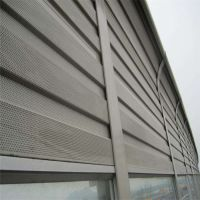 金属声屏障/市政声屏网厂家/铝板隔音屏价格/公路隔音墙订做