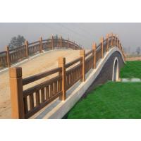 仿木河道护栏,仿木栏杆,仿木长廊,仿木地坪,仿木葡萄架,仿木花箱,仿木桌凳