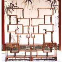 河南鹤壁精品批发红木家具价格表老挝大红酸枝交趾黄檀博古架一对