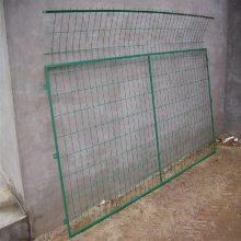 道路双边框架护栏 包塑铁丝高速护栏 景区隔离栏