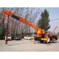 新款5吨拖拉机吊 钻吊一体机 5吨吊车 小吊车 拖拉机吊