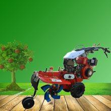 山地丘陵专用手扶犁地机 启航果园多用开沟机 柴油松土机哪里有卖