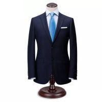 青岛商务职业西服工装套装定做厂家男女修身韩版西服量身定制