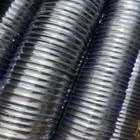 定做天然橡胶 钢丝增强橡胶管 波纹伸缩管