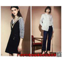 杭州2018春品牌折扣女装茜可可连衣裙进货渠道
