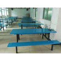 供应八人位条凳餐桌椅 固杰饭堂 快餐 小吃 麦当劳等现代中式风格