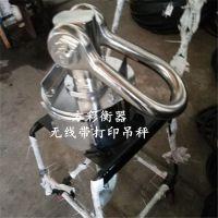 赵戈镇铸造厂用悬挂式吊秤5吨