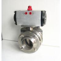简阳38电动/手动卫生级焊接蝶阀仪器应用