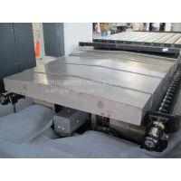 陕西西安定做耐酸碱伸缩式钢板防护罩数控机床护板热销