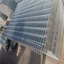 安平钢格栅板厂家 格栅板理论重量表 踏步网格板