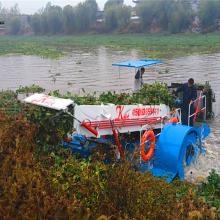 湖面水葫芦打捞机械 操作简单的水草打捞设备