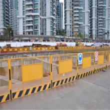 施工防护栏 儋州基坑护栏厂家 三亚临边围栏批发 海口工地电梯门