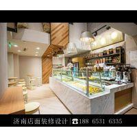 济南蛋糕店面包店烘焙店装修设计效果图 蛋糕店装饰设计
