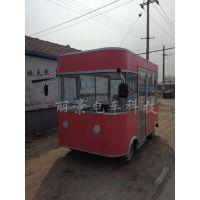 流动三轮美食餐车移动快餐车多功能美食餐车