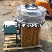 小型石磨面粉 全自动面粉机 加工作坊专用电动石磨面粉机 振德热销