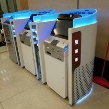 交通银行营业厅智易通设备柜员机防窥视形象隔断防护罩加工定制