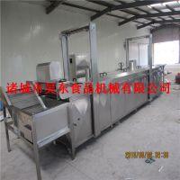 昊东新技术牛板筋油炸机器 高温油炸牛板筋质量保障