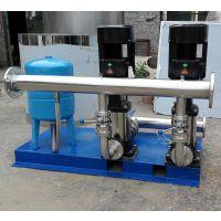 太白自来水二次加压无塔供水 太白双泵恒压变频无负压供水设备 RJ-1279