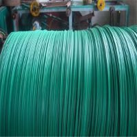 厂家供应加工定做各种颜色热冷镀锌PVC PE包塑丝质量保证