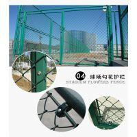 浸塑勾花护栏网 梅州双边丝防护围栏 清远低碳钢丝护栏