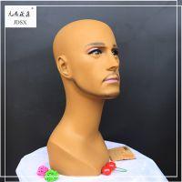 九鼎晟鑫 男人头 PVC模特头 假发 配饰 展示道具 精品头模 可定制 厂家直销