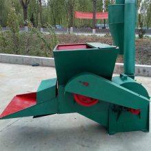 全新供应农用秸秆打糠机自动进料粉碎机家用沙克龙打草机