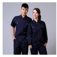 花都工作服套装男女工装定制-雅瑶定制夏季薄款男女工装-白云区厂家
