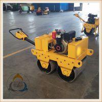 三人行小型压路机柴油 沟槽式震动压路机