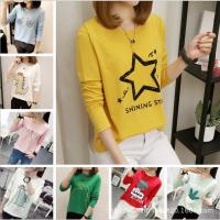 夏季外贸原单韩版女士短袖t恤 地摊韩版女装t恤女士打底衫清仓