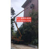 广州路灯车出租公司,专业安装路灯车,送人维修路灯车出租