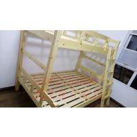 武汉实木上下床 松木高低床 子母床上1米下1.2米1380元