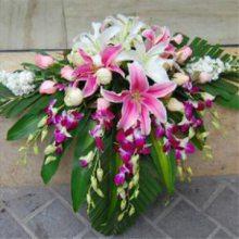 万象城婚礼花车万象城鲜花拱门15296564995布置结婚场地鲜花 婚庆花篮