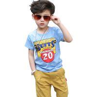 安宁市便宜童装低价小衫服装批发 男童t恤短袖2018新款儿童短袖