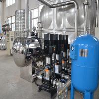 厂家专业生产304不锈钢水箱 ,箱式无负压供水设备加工安装