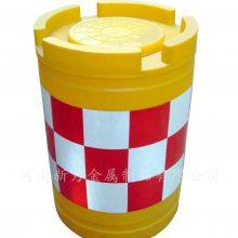 高速公路防撞桶 吹塑滚塑 交通安全反光缓冲桶防撞墩
