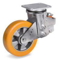 意大利tellure rota配套AGV舵轮叉车使用重载高稳定性辅助聚氨酯轮63AC系列