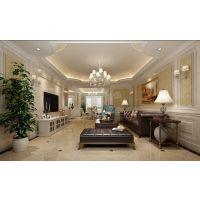 保利观塘四居室装修案例|南岸保利观塘设计方案图