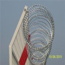 刀片刺网 刺绳防护网安装 刺绳护栏